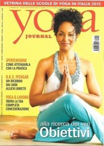 an interview to Alessia Tanzi for Yoga Journal