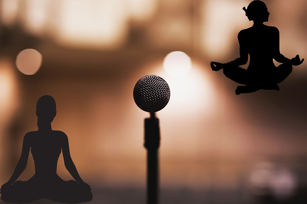 come lo yoga può essere d'aiuto nel public speaking