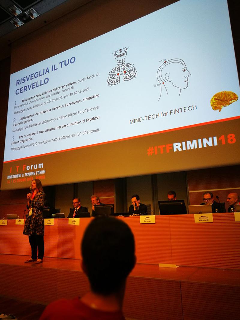 Mind Tech for Fintech, intervento di Alessia Tanzi all'Itforum