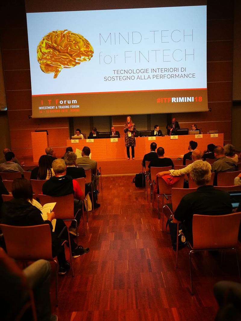Mind Tech for Fintech intervento di Alessia Tanzi all'Itforum